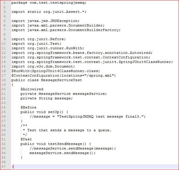 Spring Boot Ibm Mq Example