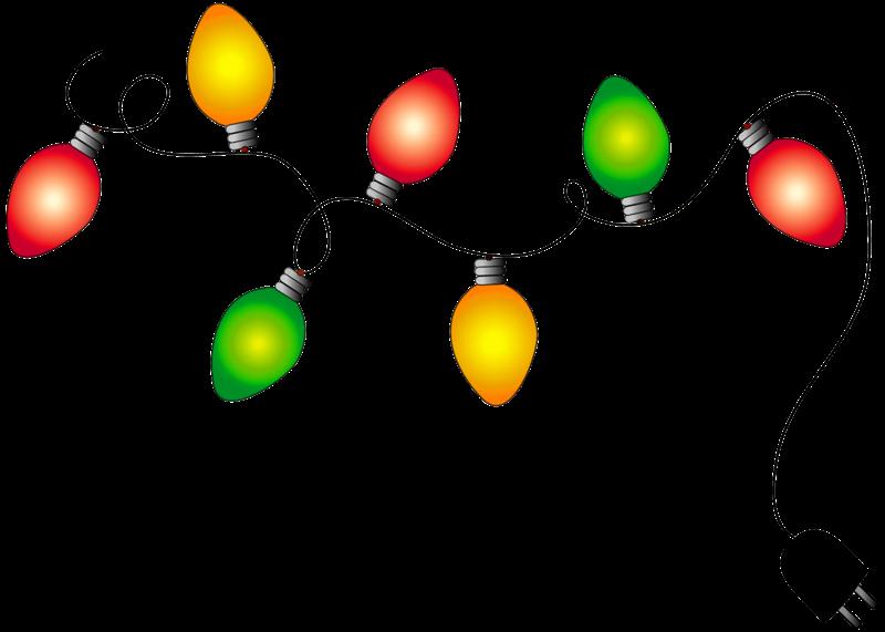 Colecci n de gifs im genes de luces de navidad - Luces de navidad ...