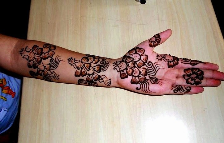 Arabic Eid Collection of Mehndi For Girls