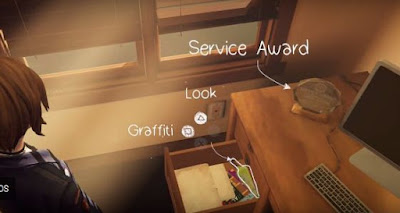 Episode 3, Graffiti Locations, Life is Strange, Before the Storm, Graffiti # 9, Drunk Drawer