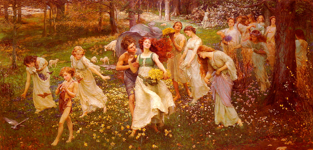 victorian british painting  august 2012