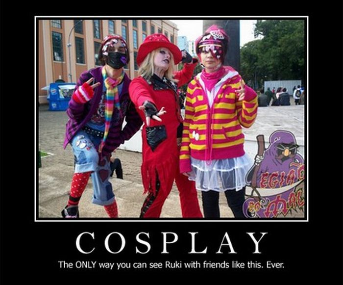 Funny Cosplay Demotivational Posters Damn Cool Pictures