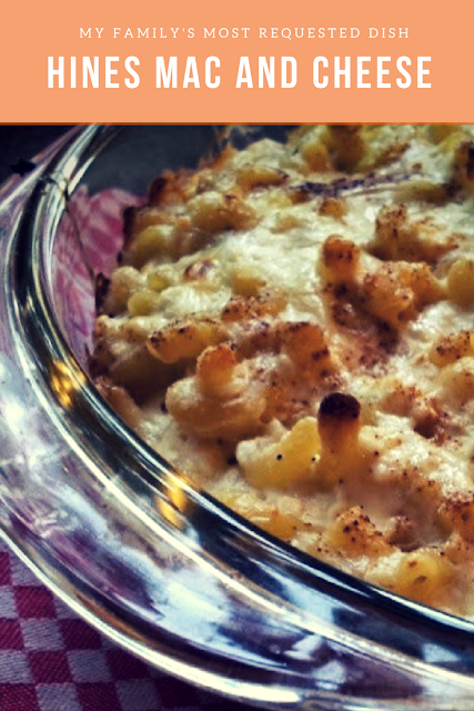 A great side dish or main entree. My family's most requested dish. Mac and Cheese