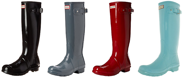 Hunter Tall Gloss Wellington Boots as low as $87