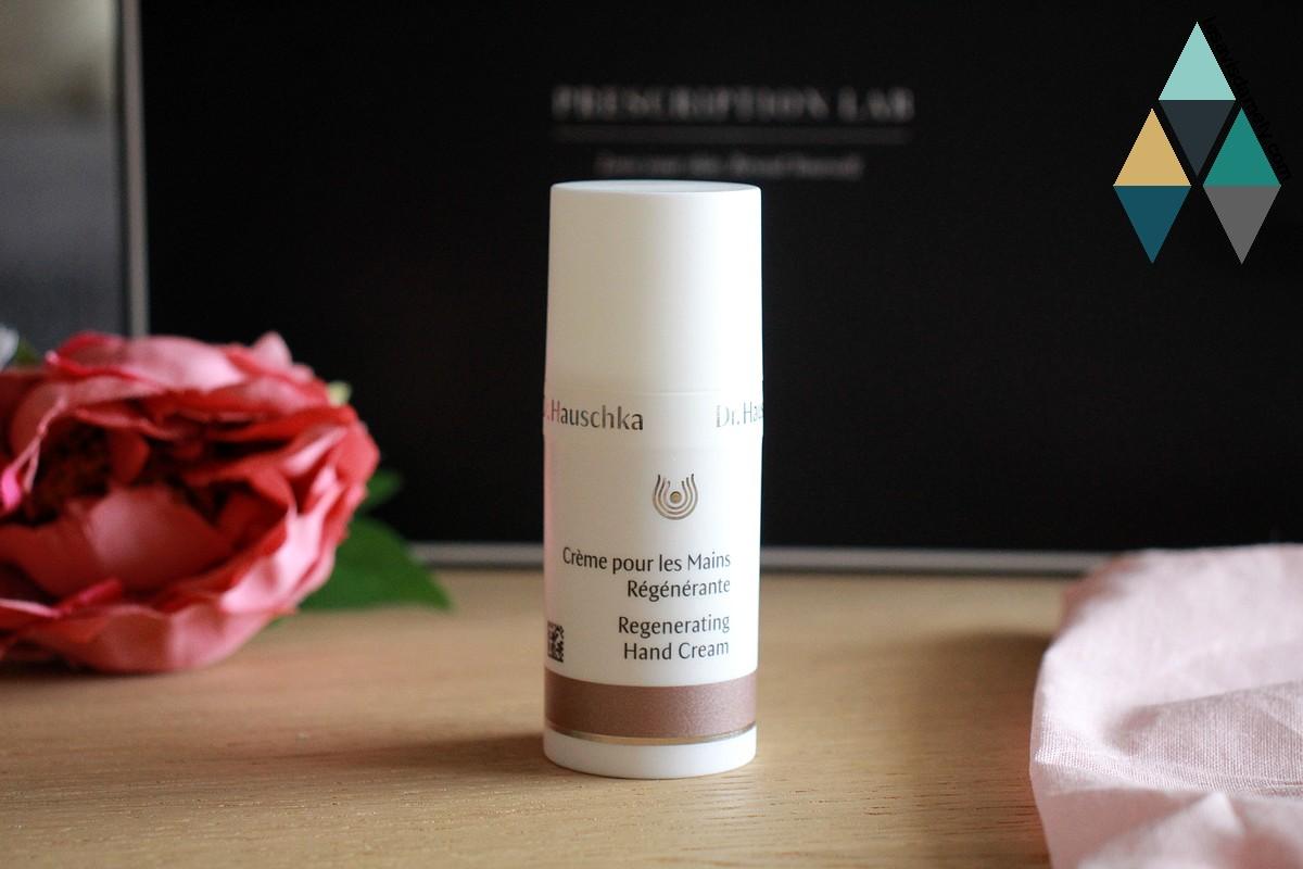 revue beauté crème mains régénérante bio et naturelle Dr Hauschka