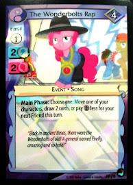 My Little Pony The Wonderbolts Rap High Magic CCG Card