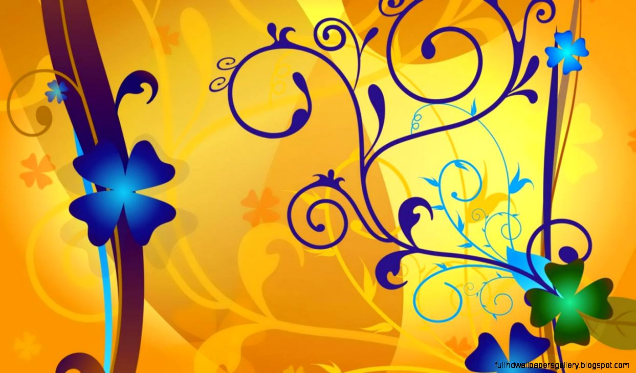 Yellow Abstract Wallpaper High Resolutions Full Hd Wallpapers