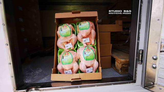 4η δράση διανομής δωρεάν τροφίμων από το Δήμο Ναυπλιέων σε ευπαθείς ομάδες