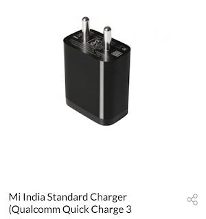 xiaomi standard charging adapter