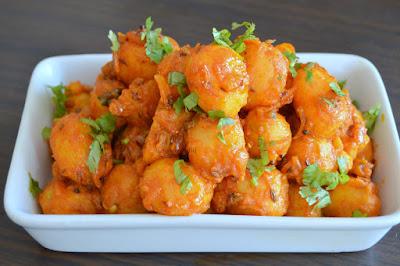 Bombay Style Masala Potato