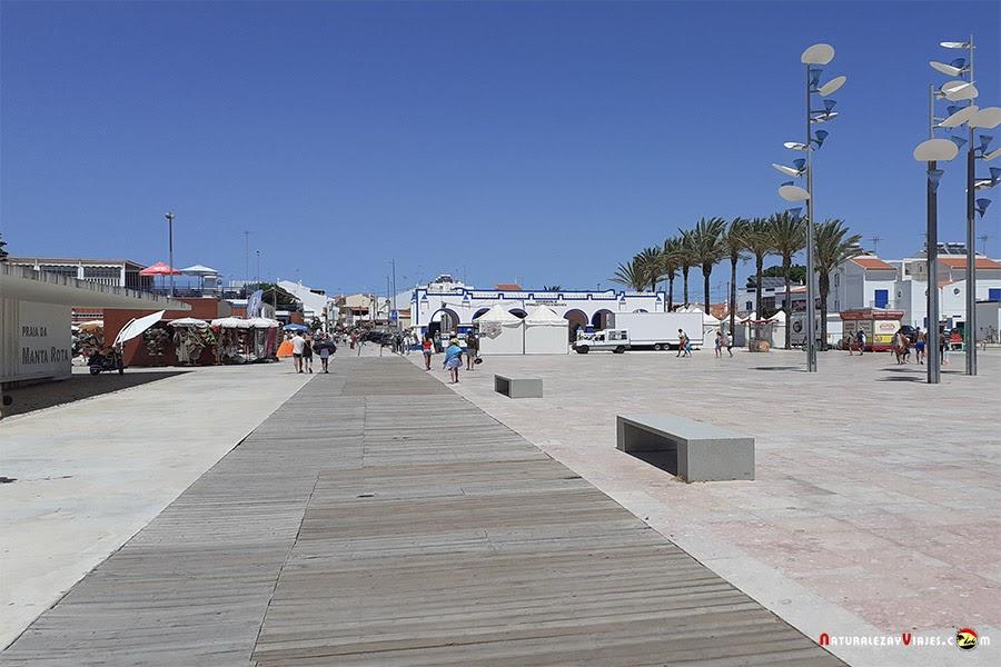 Plaza Manta Rota, Algarve