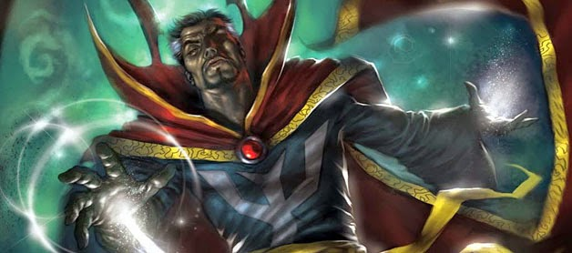 Doctor Stephen Strange is Earth's Sorcerer Supreme