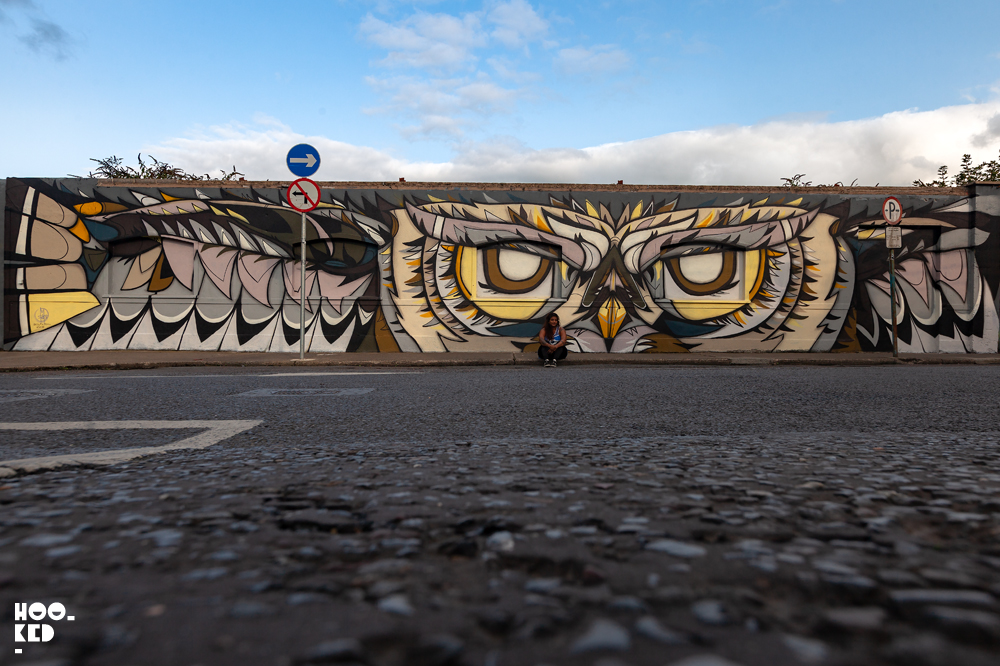 Waterford Street Art mural by Dubai based street artist Fats Patrol