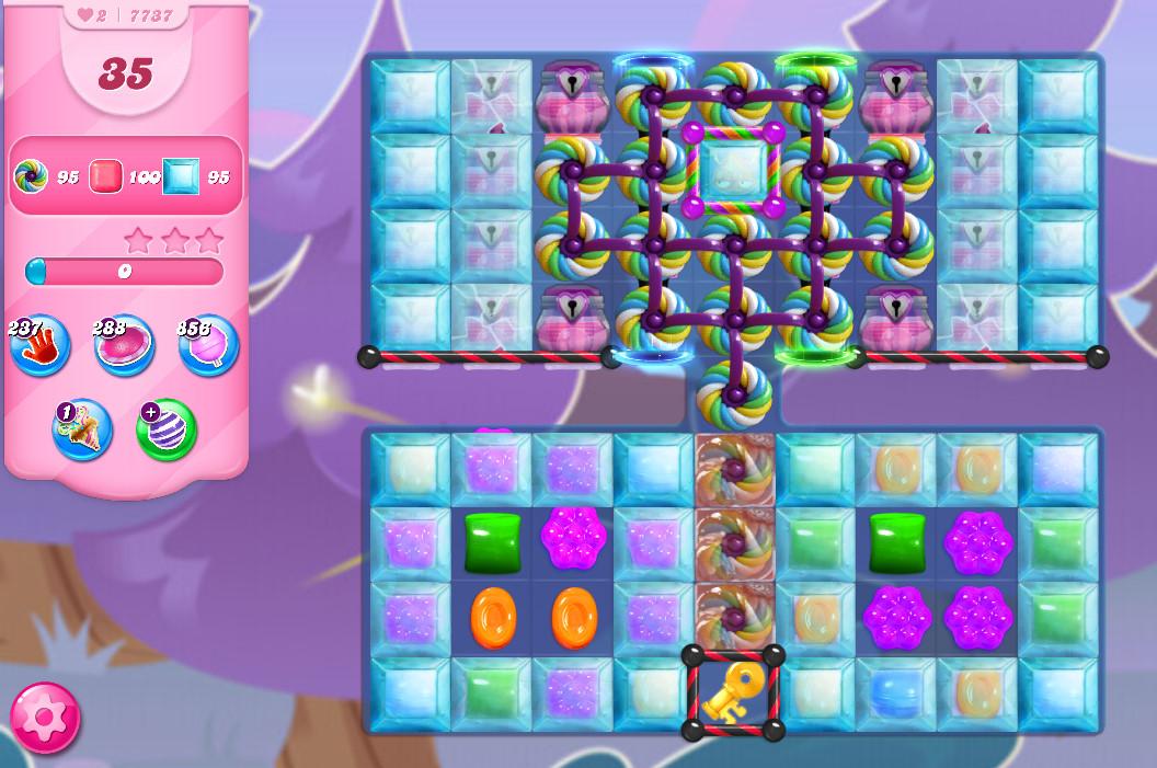 Candy Crush Saga level 7737