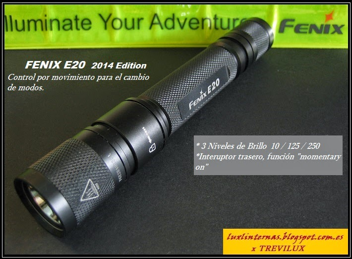 Fenix E20 2014 Edition review luxlinternas @blogspot.com.es