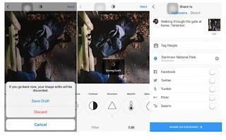 Cara Menyimpan, Mengakses dan Menghilangkan Draf Di Instagram, Begini Caranya
