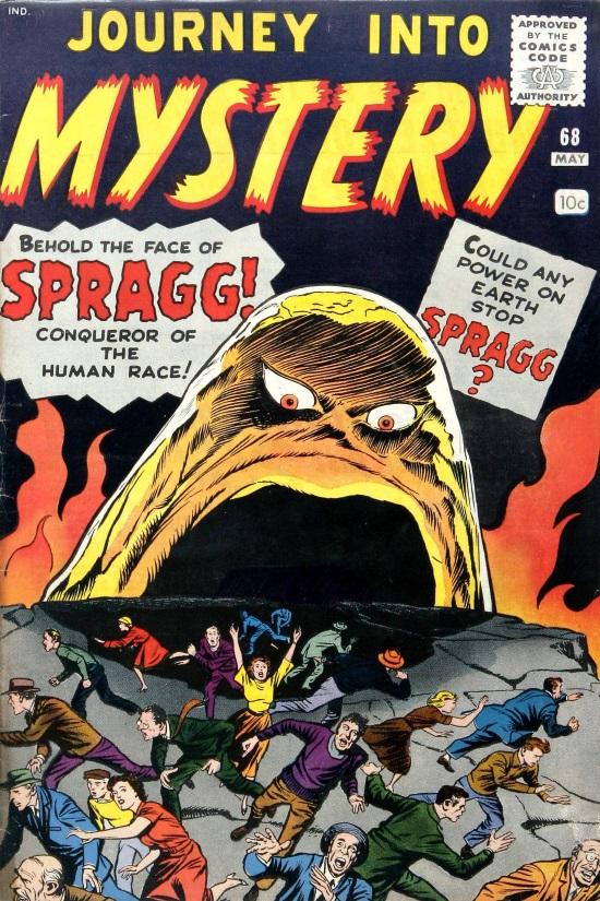 Journey Into Mystery #68, portada de Jack Kirby y Dick Ayers