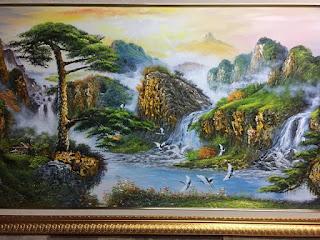 tranh sơn thủy