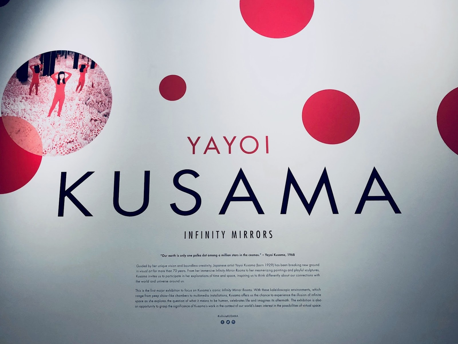 kusama exhibit
