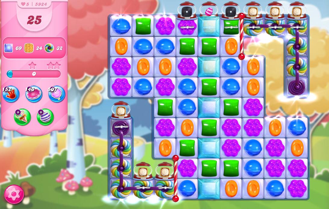 Candy Crush Saga level 5924