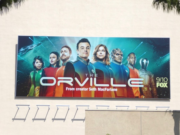 Orville Fox series billboard