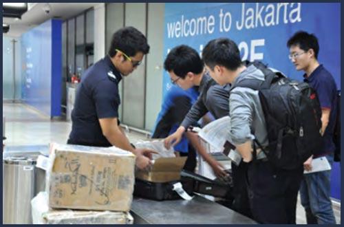 barang impor dan reimpor bawaan penumpang