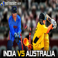 India vs Australia online cricket game free