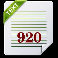 920 Text Editor - Mudah untuk editing build.prop