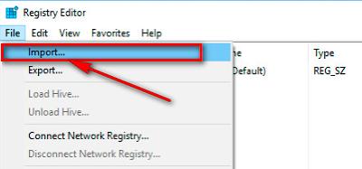 Hướng dẫn khôi phục Registy