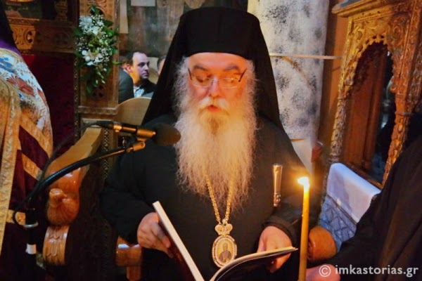 Καστοριά: Ο Σεβασμιώτατος για τον εορτασμό της Αγίας Σοφίας της Κλεισούρας (βίντεο)