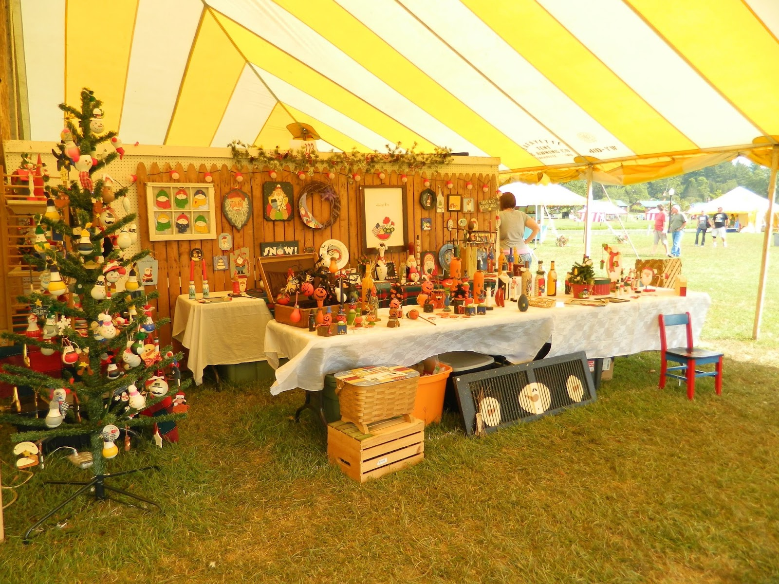 Mountain state art and craft fair ripley wv my review for Arts and crafts fairs