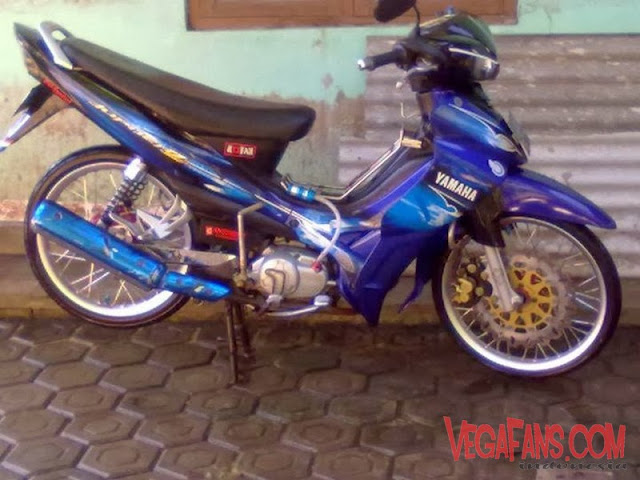 Jupiter Z Biru Modif Standar Simple