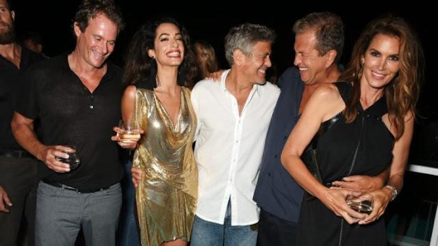 George Clooney dio a cada de sus amigos 1 millón de dólares
