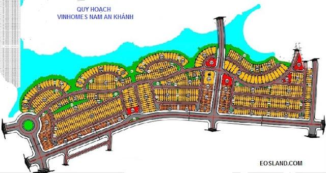 Quy hoạch Vinhomes Nam An Khánh