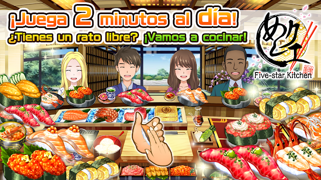 Meshi Quest: Five-Star Kitchen ya disponible para móviles, ¡a cocinar!