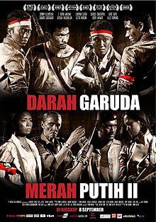 Poster Film Darah Garuda (Merah Putih II)
