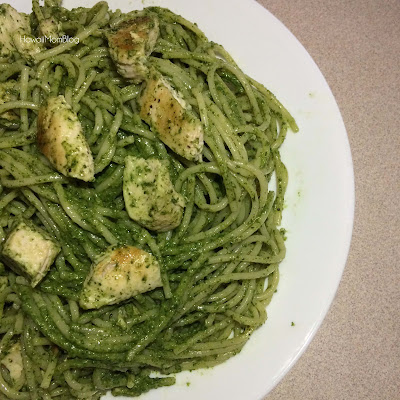 Hawaii Mom Blog: Spinach Pesto Pasta