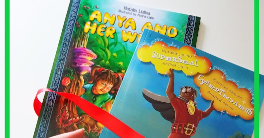Book Series Review: Anya and Her Wings & Superseal, written by Natalia Lialina and illustrated by Andrei Lialin