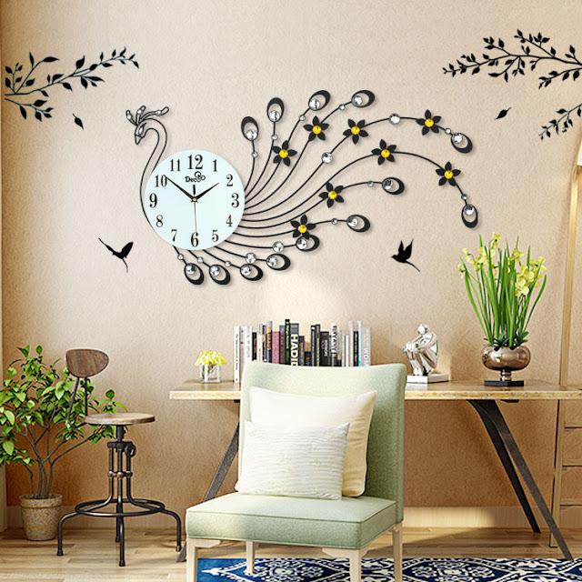 Đồng hồ trang trí treo tường DHNL338