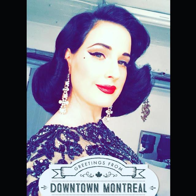 Dita von Teese burlesque Montréal