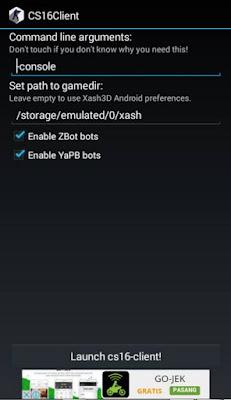setting Cara Menambahkan Musuh dan Teman Yang Tidak Ada di Counter Strike Apk Android
