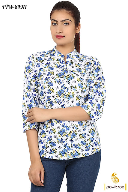 western style ladies shirts online shopping collection with cheap cost