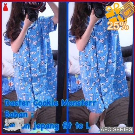 AFO738 Model Fashion Daster Cookie Monsterr Modis Murah BMGShop