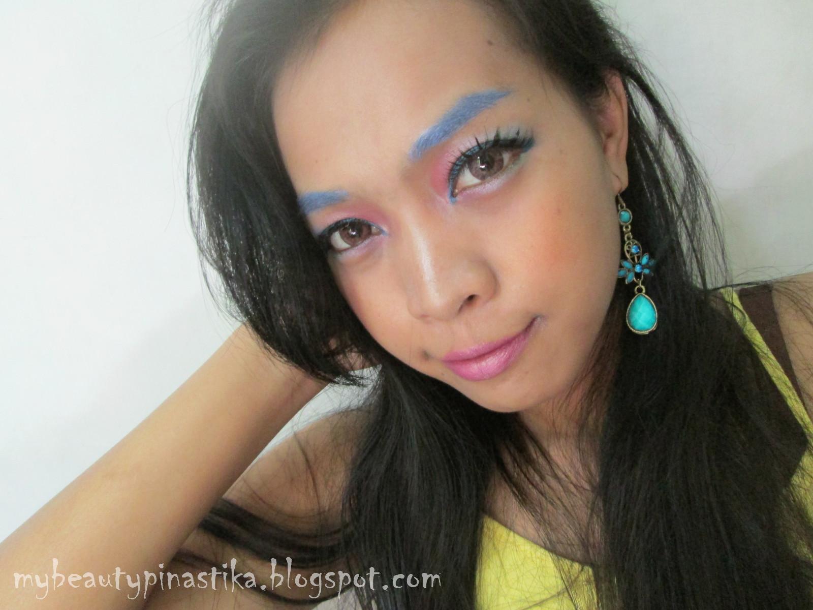 Pinastika Beauty Blog ♔: FOTD : Color Pop Make Up