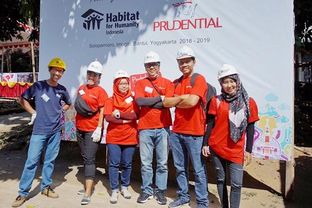 Pruvolunteer Prudential Indonesia