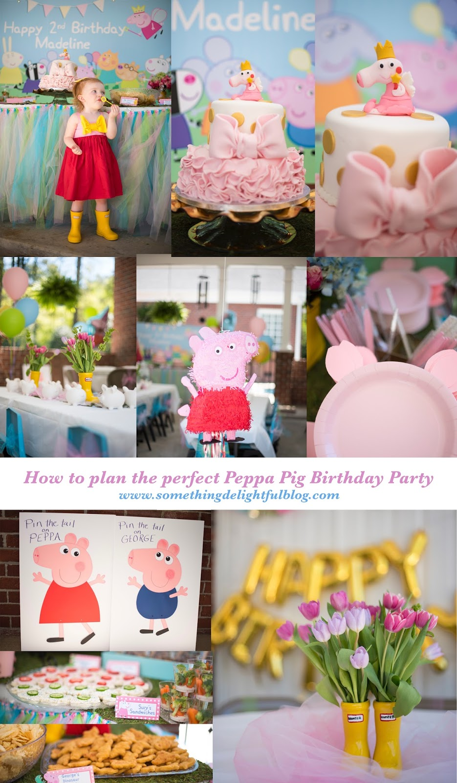 How to plan the perfect Peppa Pig birthday party - Something Delightful Blog