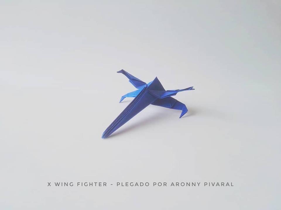 Video Tutorial Cómo Hacer Un X Wing Fácil De Origami