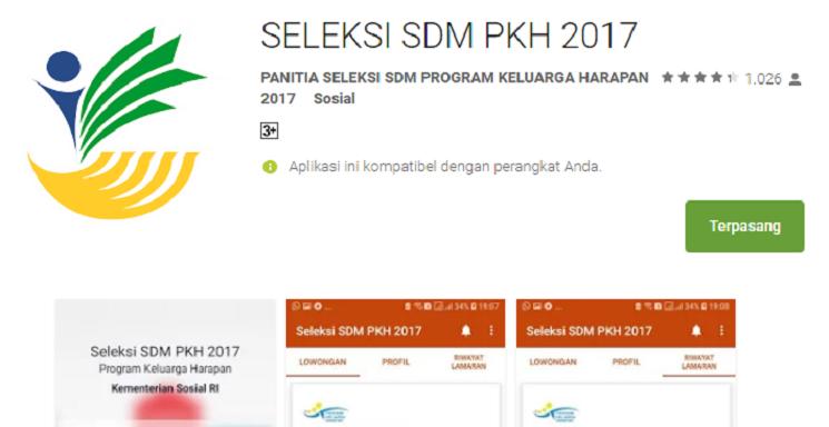 Cara Memakai Aplikasi Seleksi SDM PKH 2017