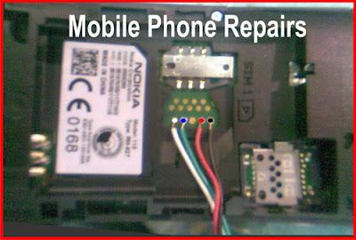 Pinout Nokia 110 RM-827 USB Flash