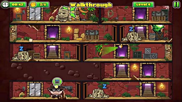 Bob The Robber 5 - The Temple Adventure - Image du Jeu